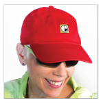 Chef Jeanne Cuddy-Perezt wears the best women's baseball caps | available in lots of great colors at equiptforplay.com