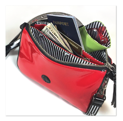 STASHmini-waterproof-patent-bag-in-ruby-red-_-EQUIPT-FOR-PLAY
