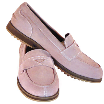 1-WEEKENDER-womens suede loafer-rose-EQUIPT FOR PLAY