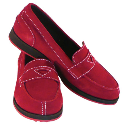 1-WEEKENDER-womens suede loafer-ruby-EQUIPT FOR PLAY