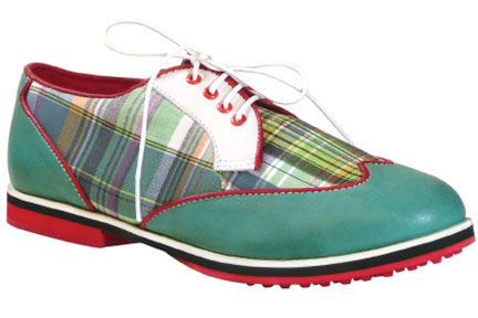 Green Madras (Wingtips)
