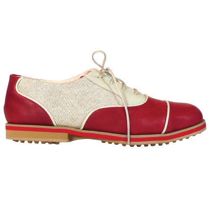 4-SPECTATOR-vermillion-ladies golf shoes-EQUIPT FOR PLAY