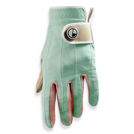 womens leather-GOLF GLOVES-desert sunset